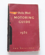 Daily Mail Motoring Guide 1952 (Edwards 1951)